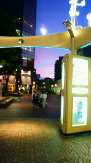 今年の夏空写真、ピンク編