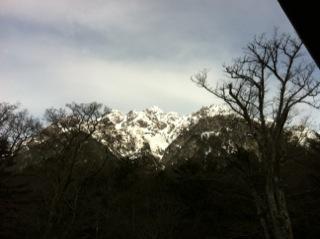 上高地徳澤と猿の楽園と